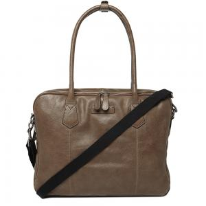 Renee By Castelijn En Beerens Leather Nellie Laptoptas 15.6 Grij