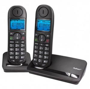 Profoon PDX-6320 Big Button Dect Telefoon Twinset