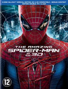 The Amazing Spider-Man 3D & 2D Blu-ray