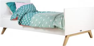 Bopita - Bed 90 X 200 Cm Lynn Wit/Naturel