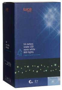 Luca Lighting Kerstverlichting LED - 800 Lampjes