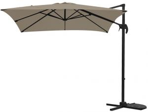 Garden Impressions Hawaii Zweefparasol S 250x250 Taupe