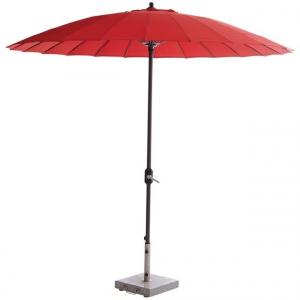 Manilla Parasol - Royal Grey/rood