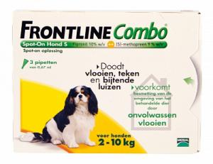 Frontline Hond Combo Spot On 3 Pack