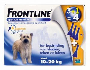 Frontline Hond Spot On Medium