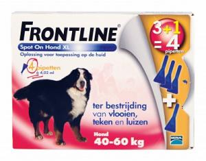 Frontline Hond Spot On Xl