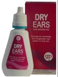 Get Plugged Dry Ears Oordruppels - 30ml (8714067560729)