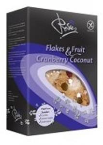 Rosies Flakes & Fruit Cranberry Coconut 200g