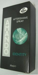 Amando Aftershave Lotion Spray Identity - 50ml