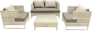 Wicker Loungeset Futura 4-delig