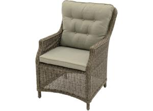 Supper Club Stoel Soprano Taupe/nature Wicker