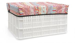 New Looxs Crate Cover Arabella Small Orange