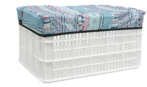 New Looxs Crate Cover Arabella Small Blue