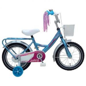 Volare Ashley Meisjesfiets - 14 Inch Blauw