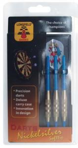 Longfield Games Softtip Darts Nickelsilver