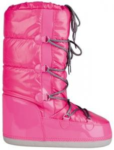 Winter Grip Snowboots Lak Dames Roze Maat 35/36