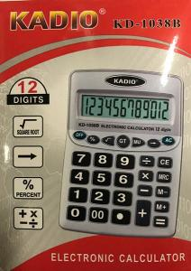 Calculator Kadio 12digit 19x13cm KD1038B
