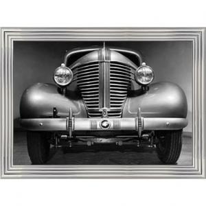 Front Grille Of 1938 Pontiac