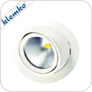 Witte Richtbare LED Downlighter Type Bananen Spot Warm Wit