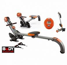 Body Sculpture Roeitrainer Mini Gym - Oranje/zwart