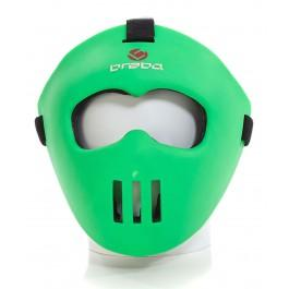 Brabo Face Mask Jr. Lime Green