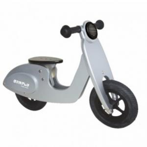 Simply For Kids 22026 Houten Loopscooter Zilver