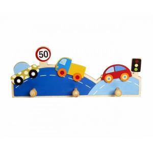 Simply For Kids Houten Kapstok Auto