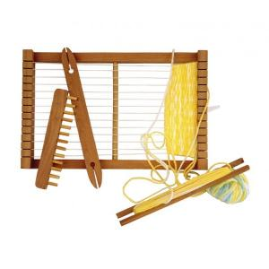 Simply For Kids Houten Loom Weefgetouw + Accessoires