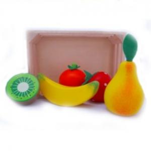 Simply For Kids Houten Kratje En Fruit