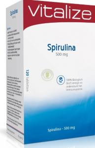 Vitalize Spirulina 500mg