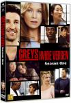 Greys Anatomy/Greys Hvide Verden - Saeson 1 DVD (8717418085599)