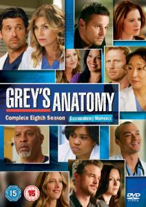 Greys Anatomy Season 8 Box Set DVD