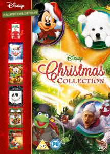 Disney Christmas Collection Box Set 6 Films DVD (8717418413569)