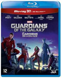 Guardians Of The Galaxy 3D & 2D Blu-ray