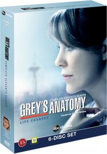 Greys Anatomy/Greys Hvide Verden - Saeson 11 DVD (8717418458799)