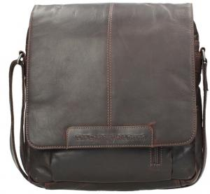 Chesterfield Casual Shoulderbag Brown