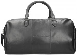 Chesterfield William Travelbag Black Weekendtas