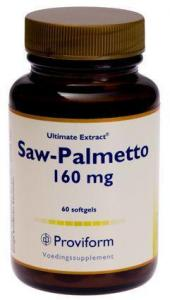Proviform Saw Palmetto 160mg 60sft (8717677127429)