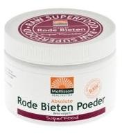 Absolute Rode Bieten Poeder Raw