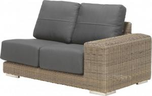 4 Seasons Outdoor Kingston Modular 2 Zits Links Met Kussens - Pu