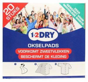 Okselpads Small Wit