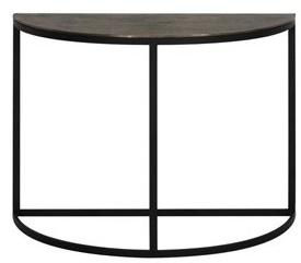 Light Side Table PETO Brons Zwart 76 X 100 42