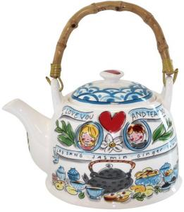 Theepot Blond Amsterdam Asia