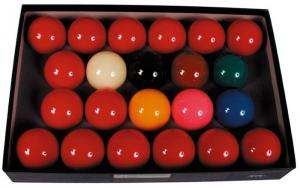 Snooker Ballenset Ventura Economy 524 Mm