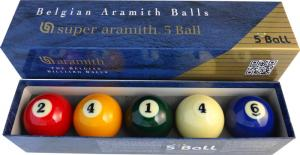 Aramith Super 5-Ball Biljartset - 61.5 Mm