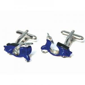 Manchetknopen Profuomo Royal Blue Scooter ONE SIZE