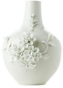 Vase Pols Potten 3D Rose White