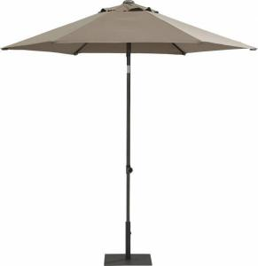 4SO Parasol Push Up 250 Cm Taupe