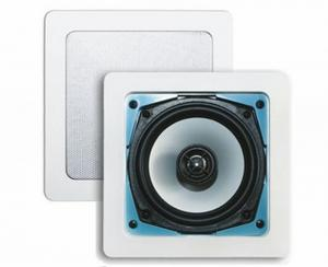Aquasound Samba Speakerset 177x177x65 80w Mat Chroom