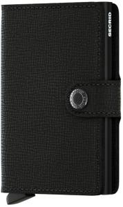 Secrid Mini Wallet Portemonnee Black Crisple